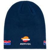 2020 Repsol Honda Team Replica Beanie Blue Official MotoGP Merchandise Adults One Size