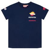 2020 Repsol Honda Team Racing Kids T-Shirt Tee Blue MotoGP Merchandise Ages 2-11