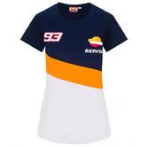 2020 Repsol Honda Team Dual Marc Marquez Womens Ladies T-Shirt Sizes XS-XL