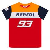2020 Repsol Honda Team Dual Marc Marquez Kids Childrens T-Shirt Ages 2-11 Years