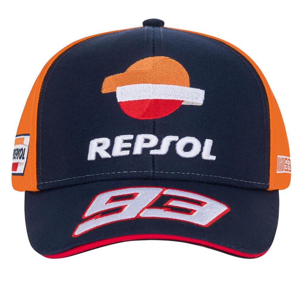 2020 Repsol Honda Team Dual Marc Marquez Baseball Cap Blue Hat Adults One Size