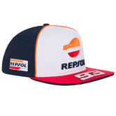 2020 Repsol Honda Team Dual Marc Marquez Baseball Cap White Hat Adults One Size