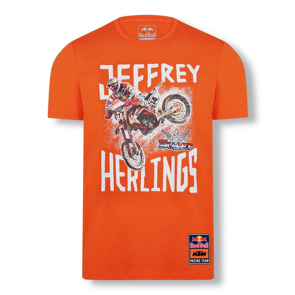 2020 Red Bull KTM Factory Racing Mens Jeffrey Herlings #84 T-Shirt Sizes S-XXXL