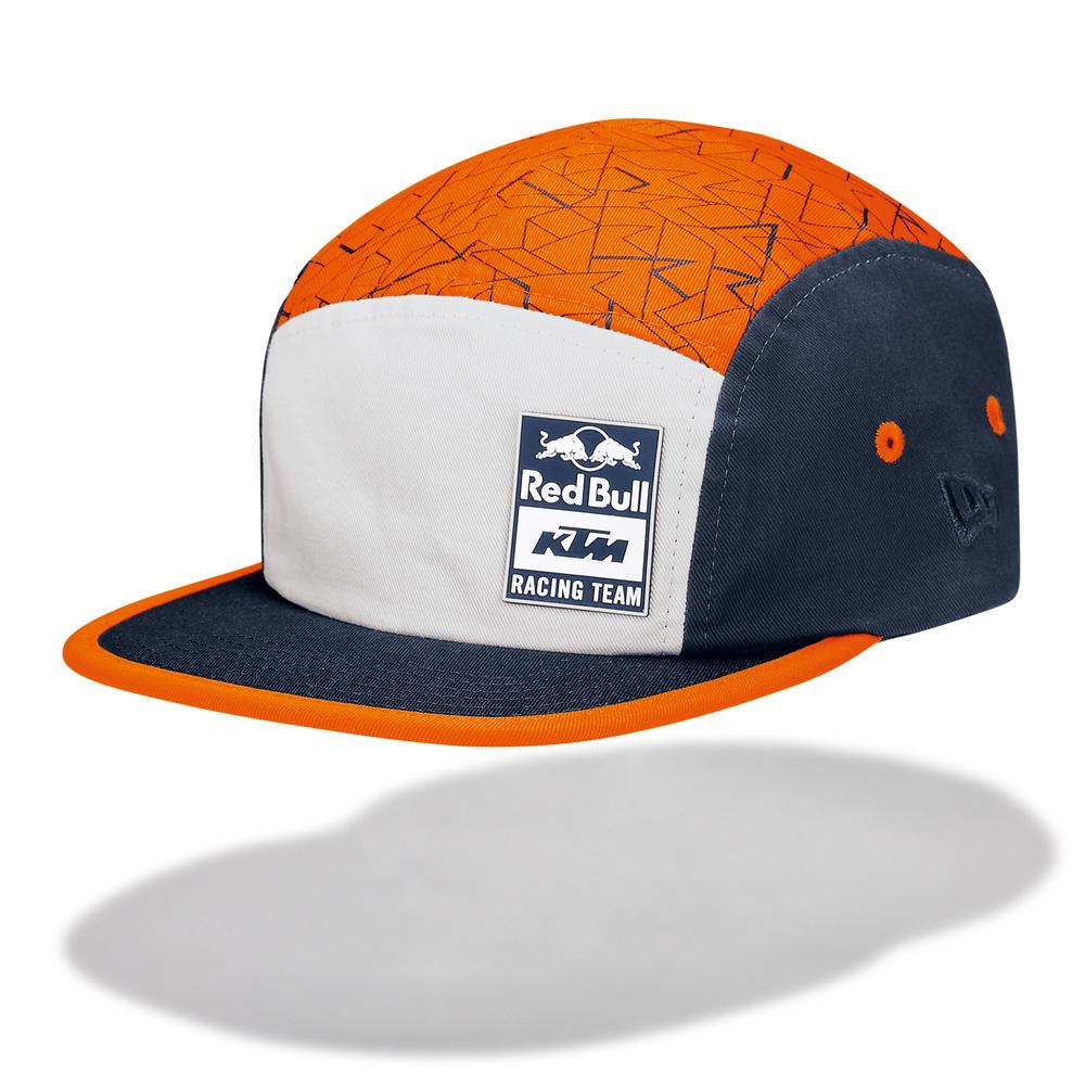 2020 Red Bull KTM Factory Racing New Era Camper Baseball Cap Orange Adults Size