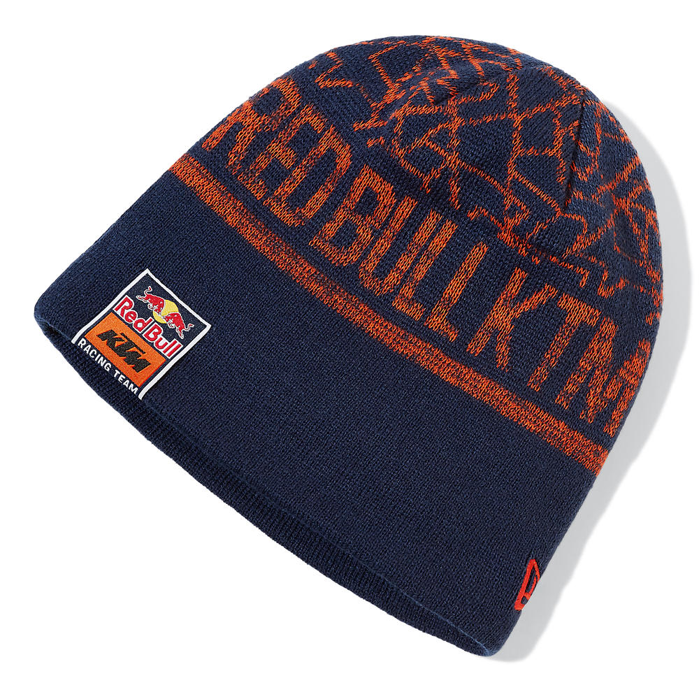 2020 Red Bull KTM Factory Racing New Era Knit Beanie Hat Adults One Size