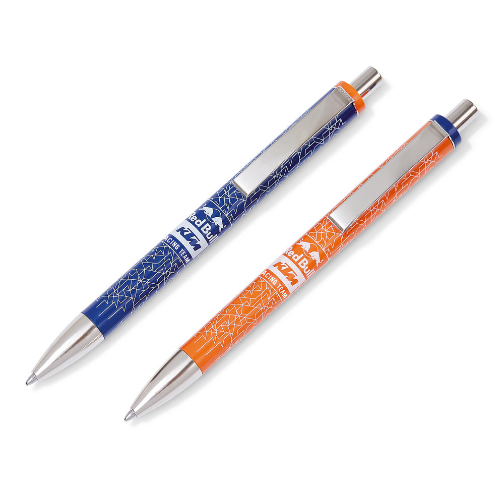 2020 Red Bull KTM Factory Racing Pen Set Writing Ballpoint Blue Ink Merchandise