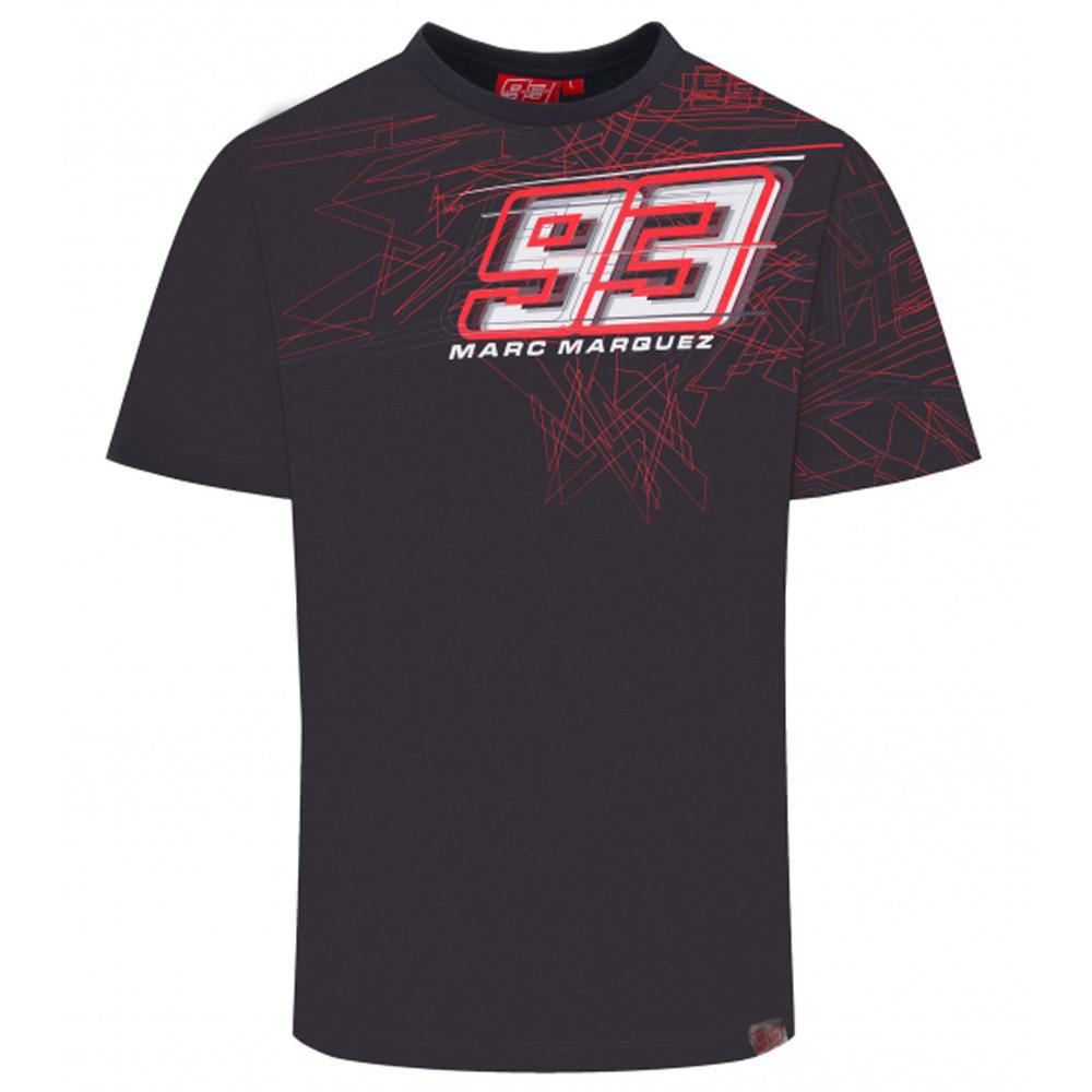 2020 Marc Marquez #93 MotoGP Mens T-Shirt Grey Ant Tee Official Merchandise S-XL