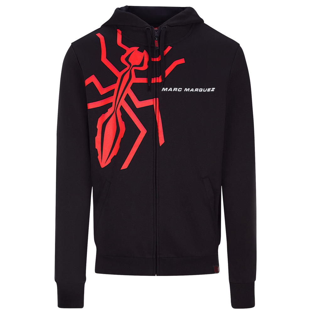 2020 Marc Marquez #93 MotoGP Mens Hoodie Grey Ant Official Merchandise S-XXL