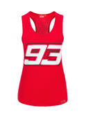 2020 Marc Marquez MotoGP Ladies Womens Red Tank Top Vest Official Merchandise