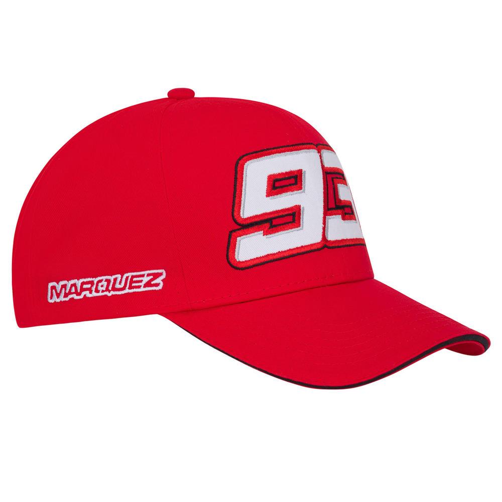 2020 Marc Marquez #93 MotoGP Red Logo Baseball Cap Hat Official Merchandise