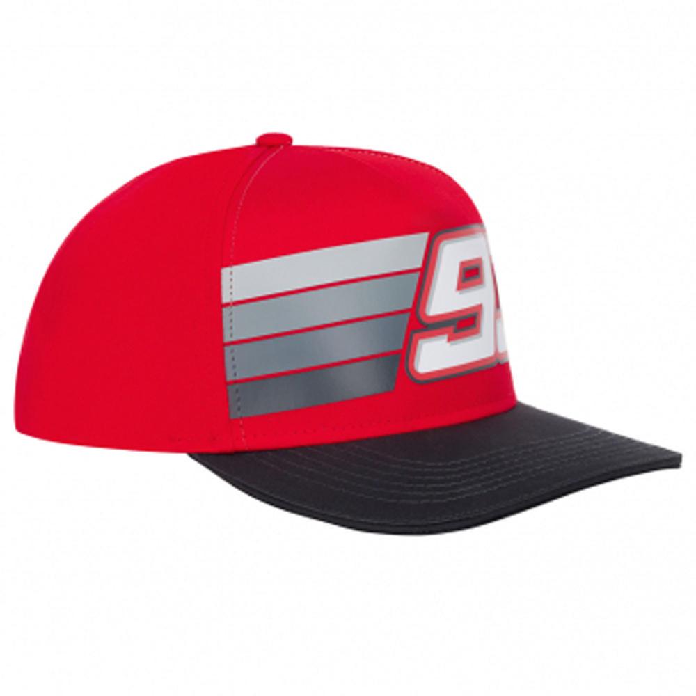 2020 Marc Marquez #93 MotoGP Red Striped Baseball Cap Official Merchandise Adult