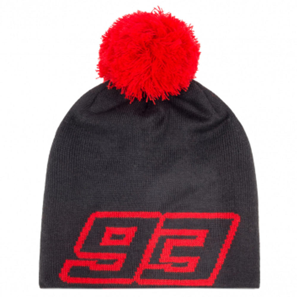2020 Marc Marquez #93 MotoGP Grey Winter Beanie Hat Official Merchandise Adult