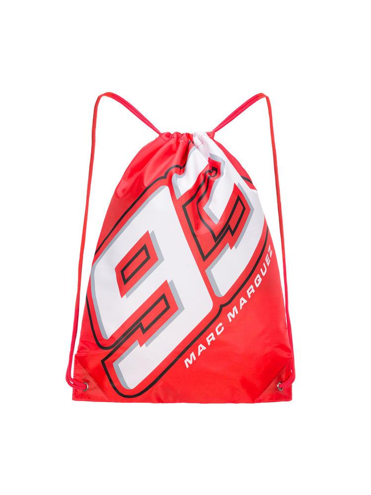 2020 Marc Marquez #93 MotoGP Gym Bag Drawstring Book School Official Merchandise