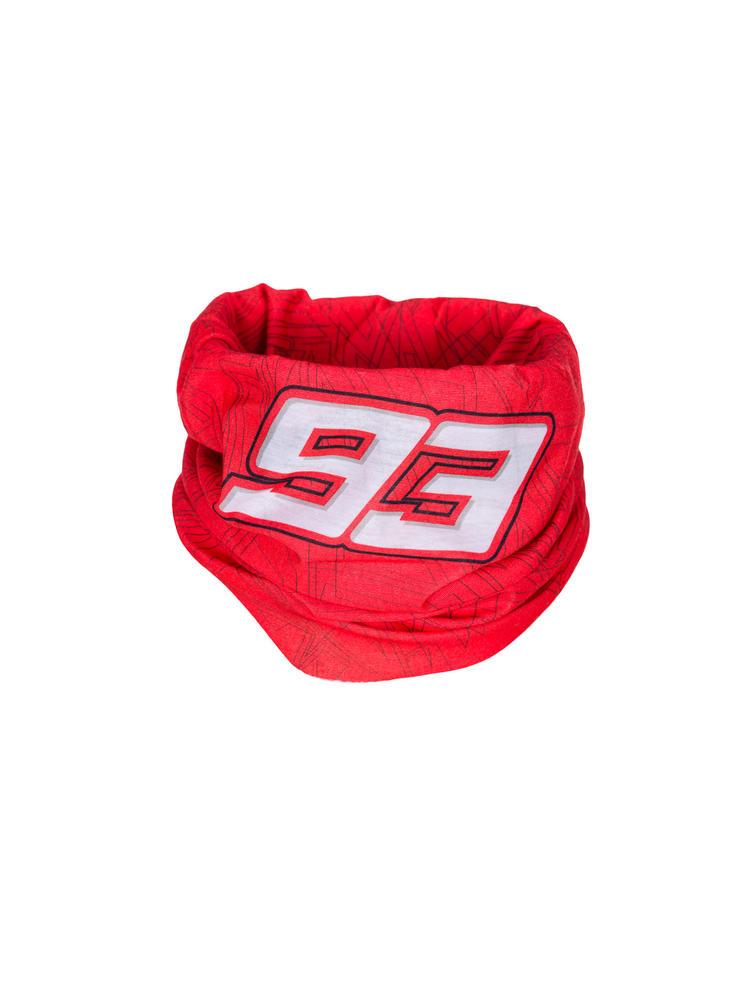 2020 Marc Marquez #93 MotoGP Necktube Neck Warmer Official Merchandise