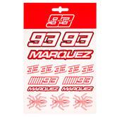 2020 Marc Marquez #93 MotoGP Medium Sticker Pack Decals Official Merchandise