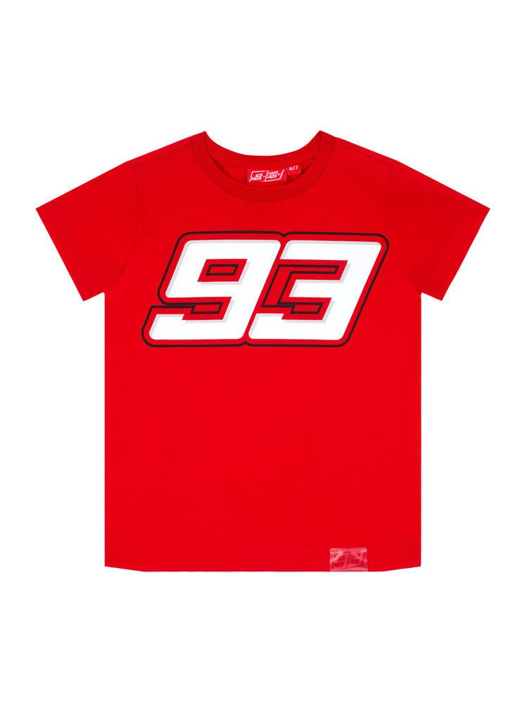 2020 Marc Marquez #93 MotoGP Kids Childrens Red 93 T-Shirt Official Merchandise