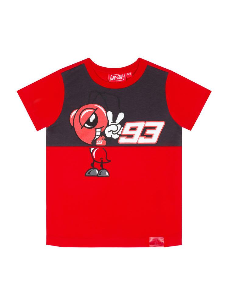 2020 Marc Marquez #93 MotoGP Kids Childrens Red Ant T-Shirt Official Merchandise