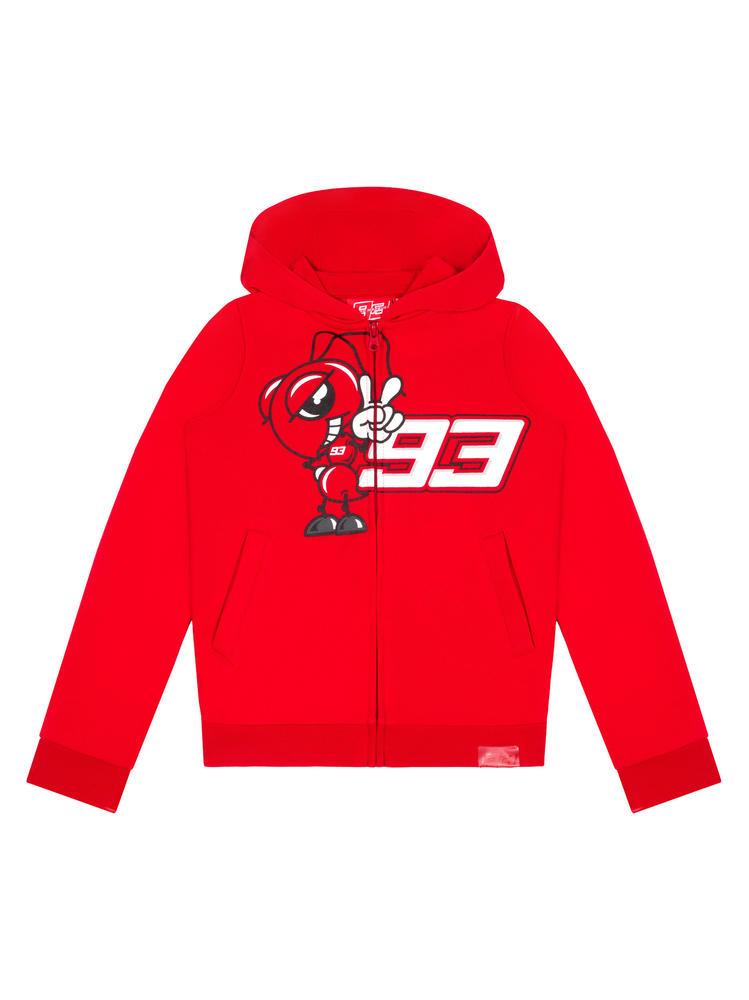 2020 Marc Marquez #93 MotoGP Kids Childrens Red Ant Hoodie Official Merchandise