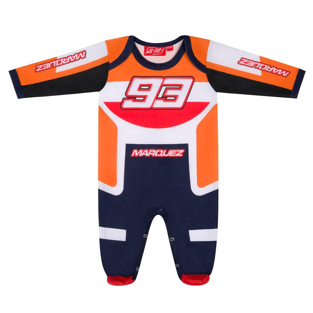 2020 Marc Marquez #93 MotoGP Kids Baby Onesie Babygrow Official Merchandise