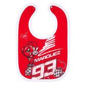 2020 Marc Marquez #93 MotoGP Kids Baby Bib Food Catcher Official Merchandise