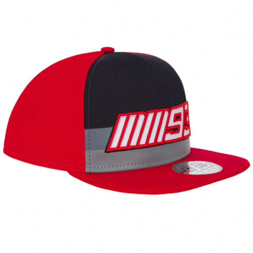 2020 Marc Marquez #93 MotoGP Kids Baseball Flat Cap Red Official Merchandise