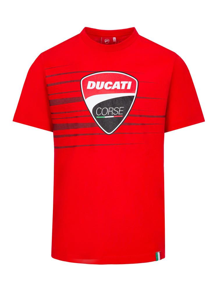 2020 Ducati Corse MotoGP Mens T-Shirt Red Tee Official Merchandise Sizes S-XXL