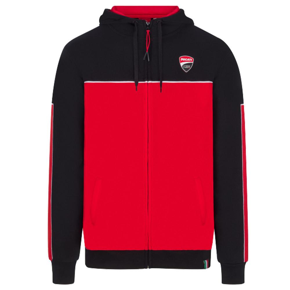 2020 Ducati Corse MotoGP Mens Hoodie Black Official Merchandise Sizes S-XXL