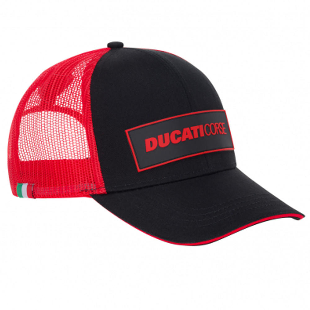 2020 Ducati Corse MotoGP Trucker Hat Baseball Cap Red Adults One Size Official