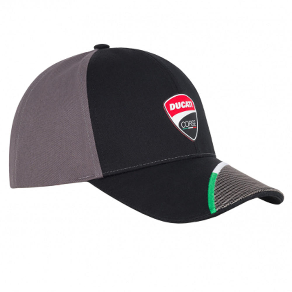 2020 Ducati Corse MotoGP Trucker Hat Baseball Cap Black Adults One Size Official