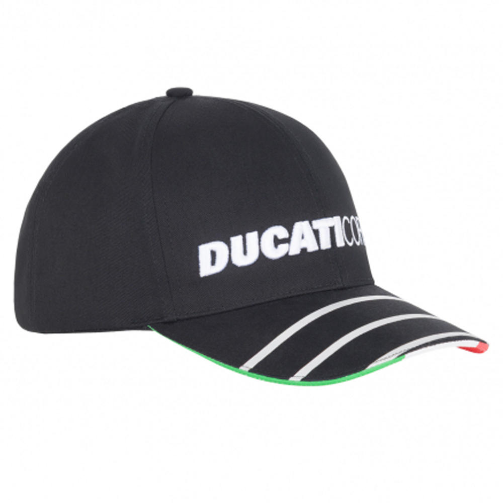 2020 Ducati Corse MotoGP Trucker Hat Flat Baseball Cap Black Adults One Size