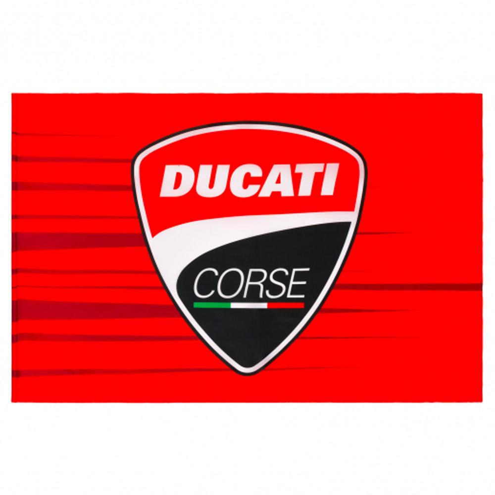 2020 Ducati Corse MotoGP Fan Flag Supporters 140 x 90cm Official Merchandise
