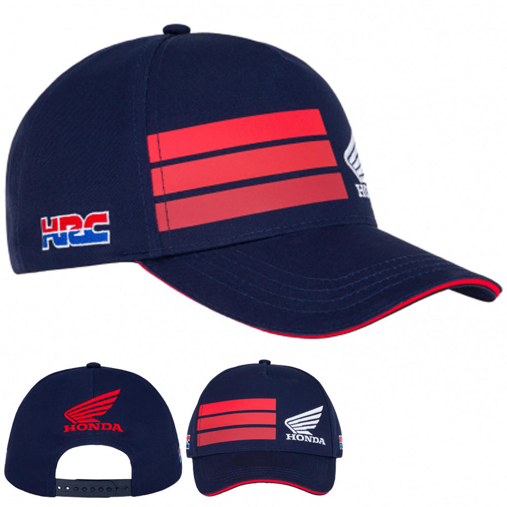 2020 Honda HRC Racing Collection MotoGP Baseball Cap Navy Hat Adults One Size