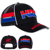 2020 Honda HRC Racing Collection MotoGP Trucker Cap Navy Hat Adults One Size