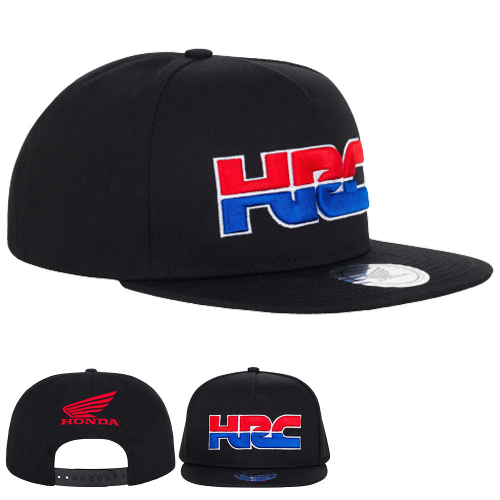 2020 Honda HRC Racing Collection MotoGP Flat Cap Navy Hat Adults One Size