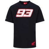 2020 Honda HRC Dual Marc Marquez #93 MotoGP Mens T-Shirt Black Tee Sizes S-XXL