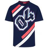 2020 Andrea Dovizioso MotoGP Mens T-Shirt Blue Official Merchandise Sizes S-XXL