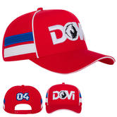 2020 Andrea Dovizioso MotoGP Baseball Cap Red Hat Adults One Size Official