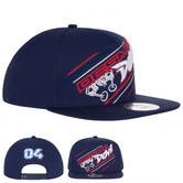 2020 Andrea Dovizioso MotoGP Flat Cap Baseball Hat Blue Official Merchandise