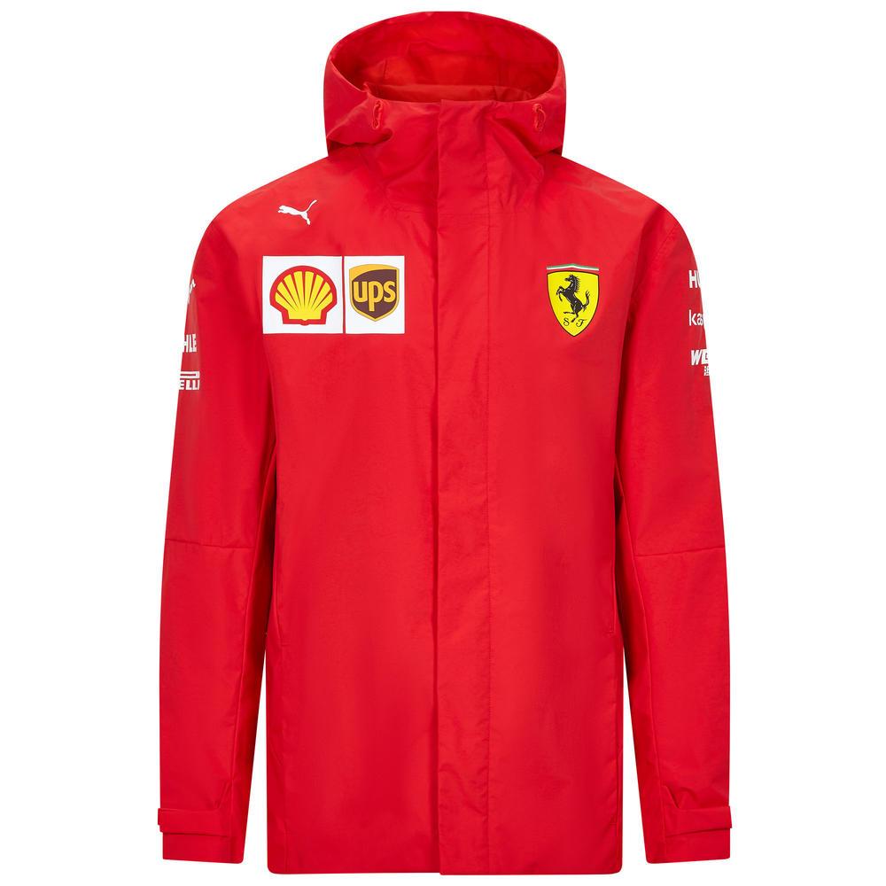 2020 Scuderia Ferrari F1 Replica Mens Team Jacket Coat Official Merchandise S-XXL