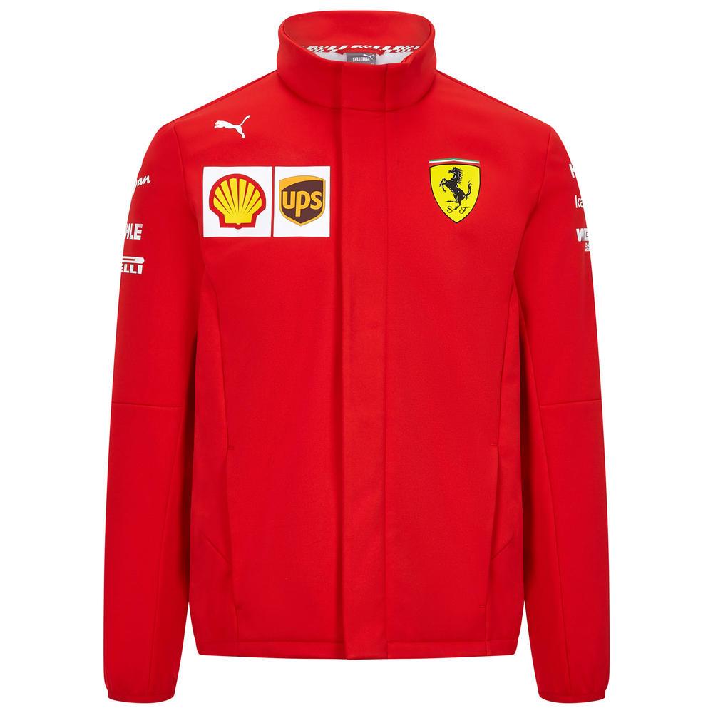 2020 Scuderia Ferrari F1 Replica Mens Team Softshell Jacket Official Merchandise S-XXL