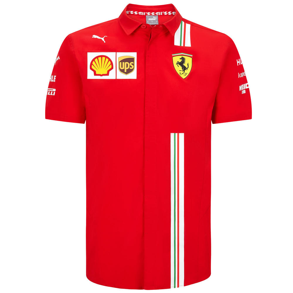 2020 Scuderia Ferrari F1 Replica Mens Team Shirt Official Merchandise S-XXL