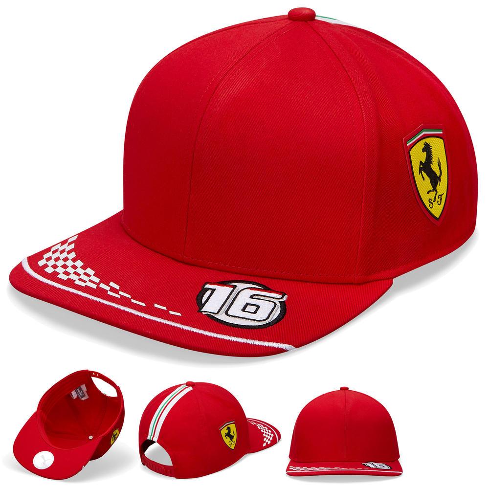 2020 Scuderia Ferrari F1 Replica Charles Leclerc Baseball Cap Hat Adult One Size
