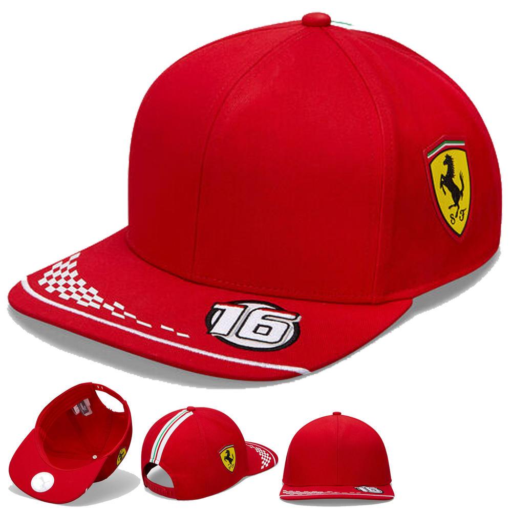 2020 Scuderia Ferrari F1 Replica Charles Leclerc Baseball Cap Hat Kids One Size