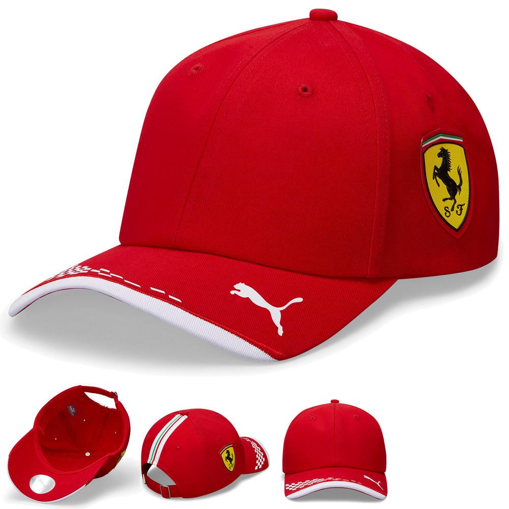 2020 Scuderia Ferrari F1 Replica Team Baseball Cap Hat Kids One Size