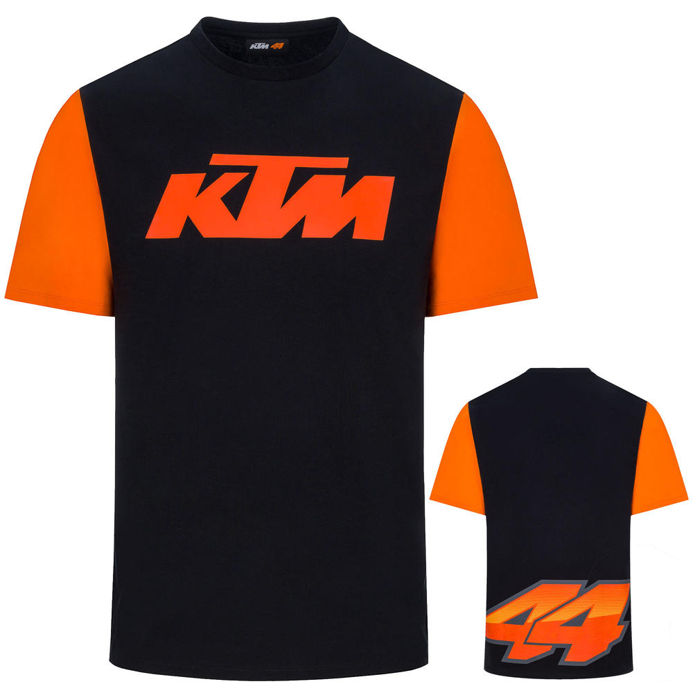 2020 KTM RACING Pol Espargaro MotoGP Mens T-Shirt Black Official Merchandise