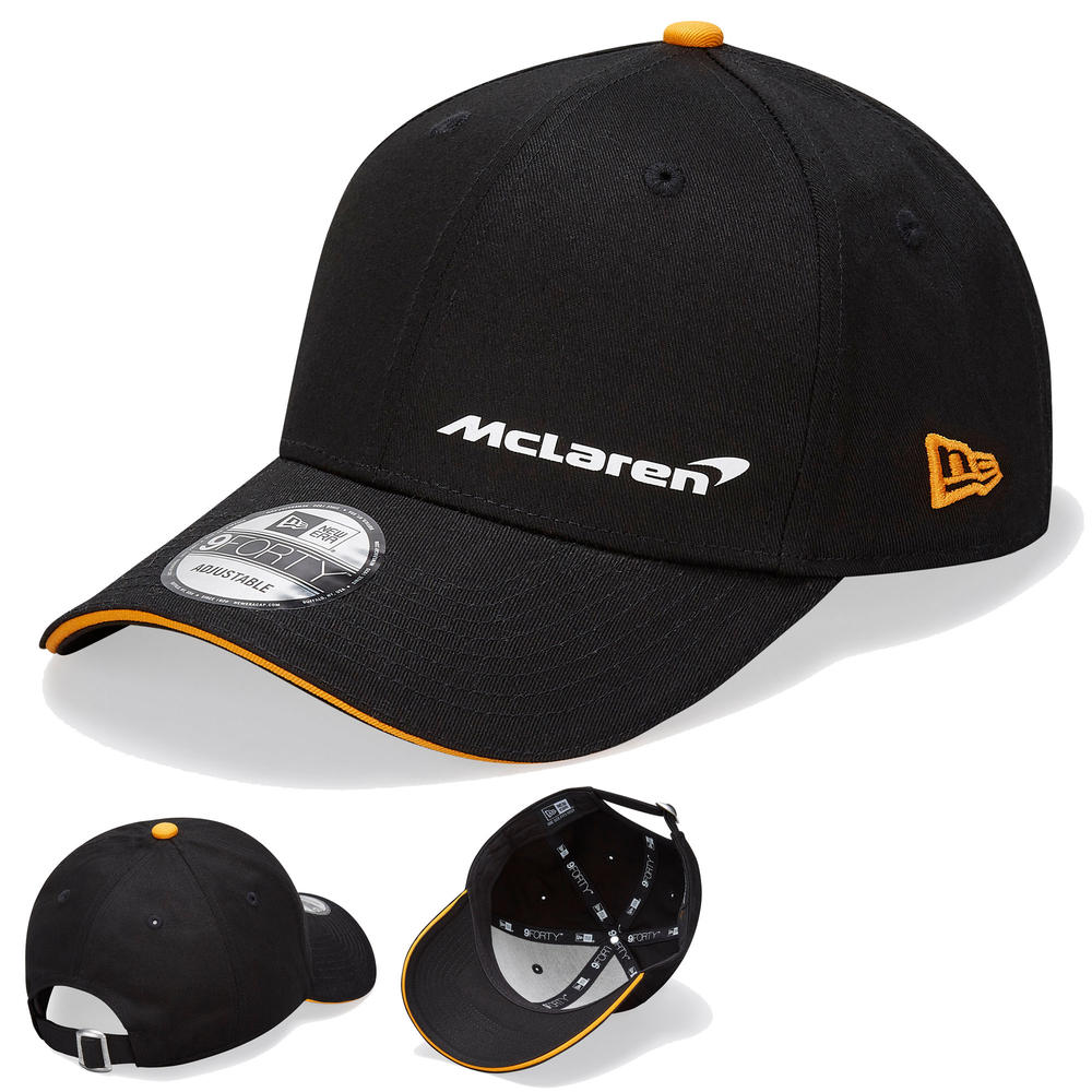 2020 McLaren Racing Essential 9FORTY Black Baseball Cap Adults One Size Official