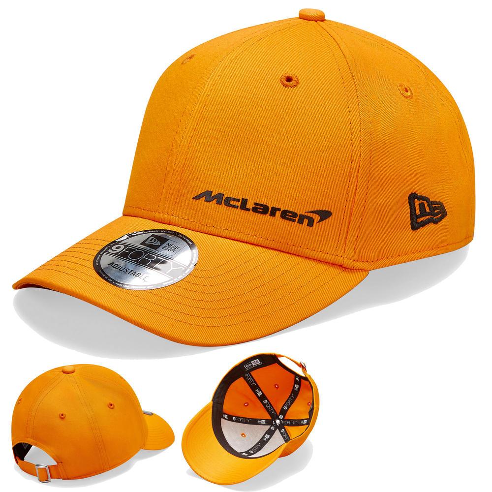 2020 McLaren Racing Essential 9FORTY Orange Baseball Cap Childrens Kids One Size