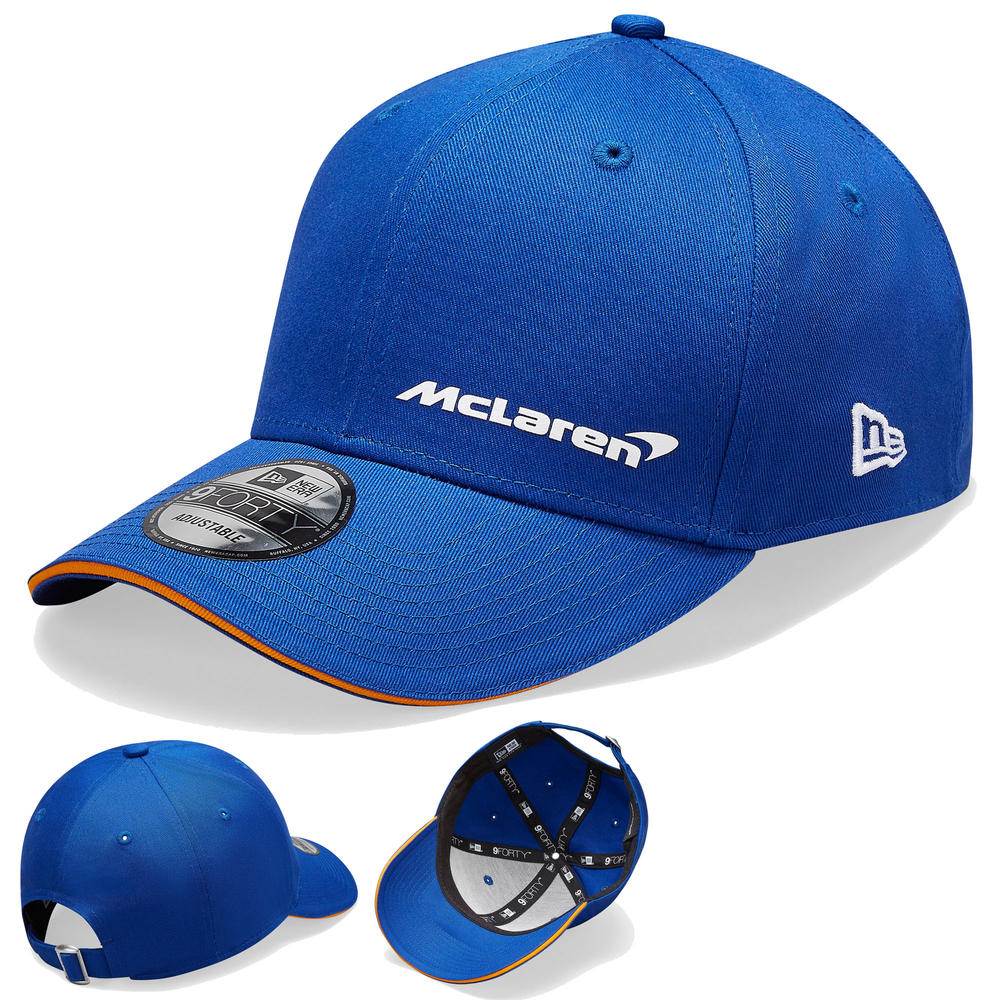 2020 McLaren Racing Essential 9FORTY Blue Baseball Cap Adults One Size