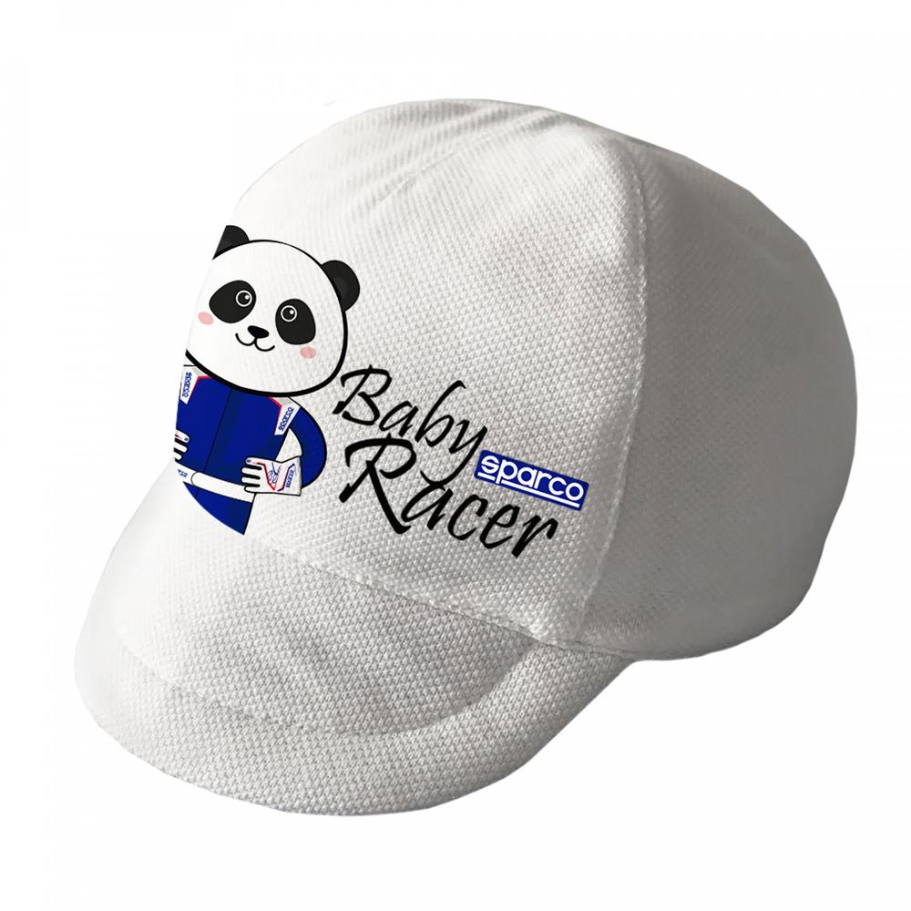 017014 Sparco Baby Racer Hat in 100% Organic Cotton to fit Ages 0 to 24 Months