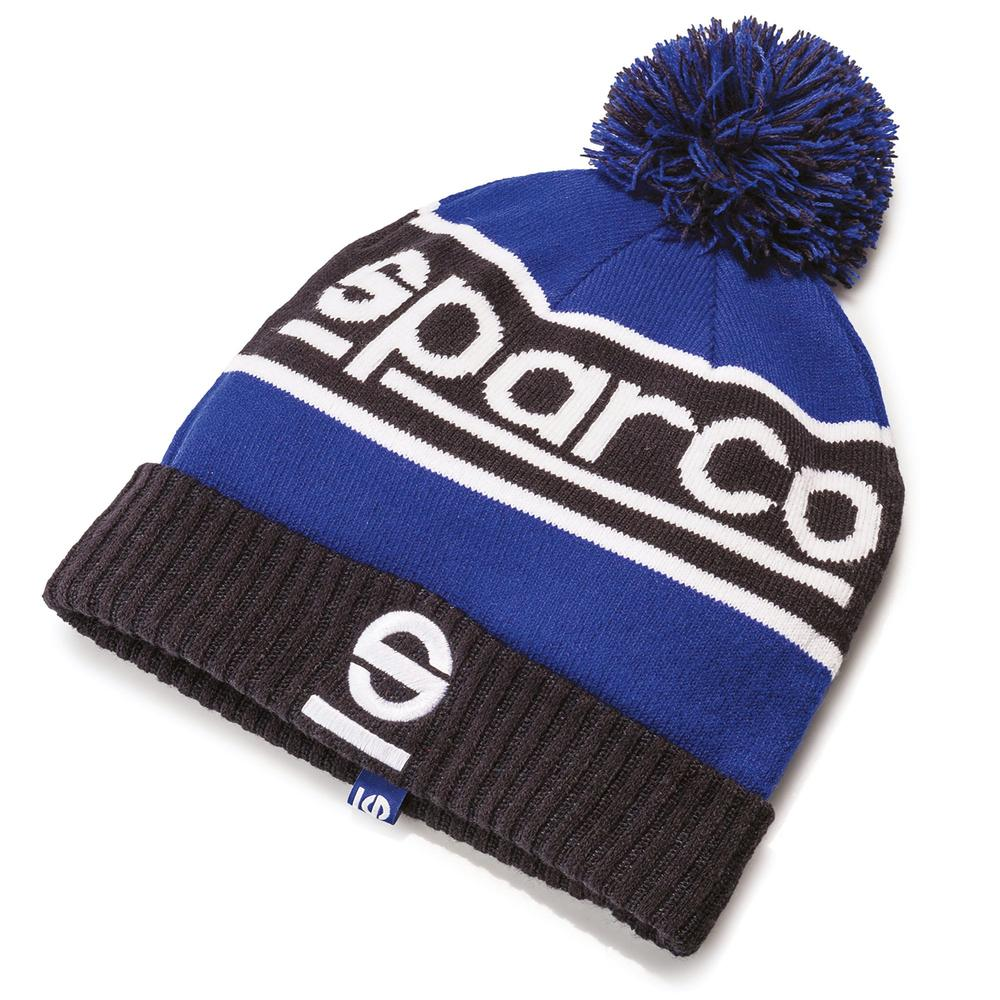 017019 Sparco WINDY Kids Beanie Bobble Hat Childrens One Size in 100% Acrylic